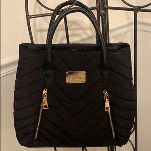 Bebe black satchel bag EUC!!